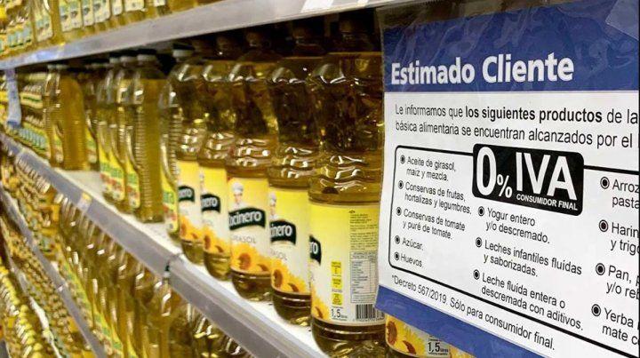 Gobierno selló acuerdo de precios para canasta básica