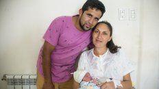 alexis sanabria es el primer bebe del ano nacido en entre rios