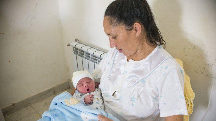 Alexis Sanabria es el primer bebé del año nacido en Entre Ríos