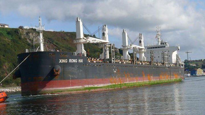 Primera exportación del año desde un puerto entrerrianos