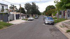 Los vecinos de calle Zaccaro están preocupados por la situación.