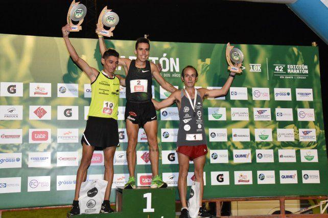 Julián Molina se adueñó del Maratón de los Dos Años