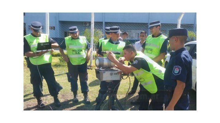 Capacitación. Los equipos fueron entregados por la Agencia de Seguridad Vial de la Nación.