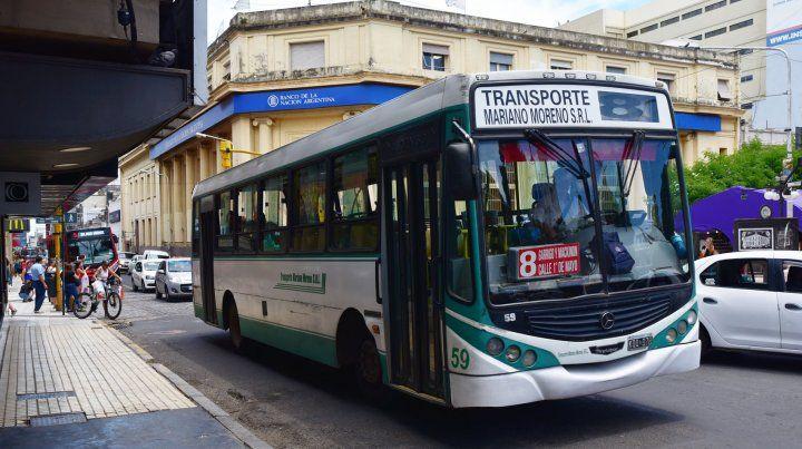 Nación invitó a congelar tarifas del transporte de pasajeros a las provincias