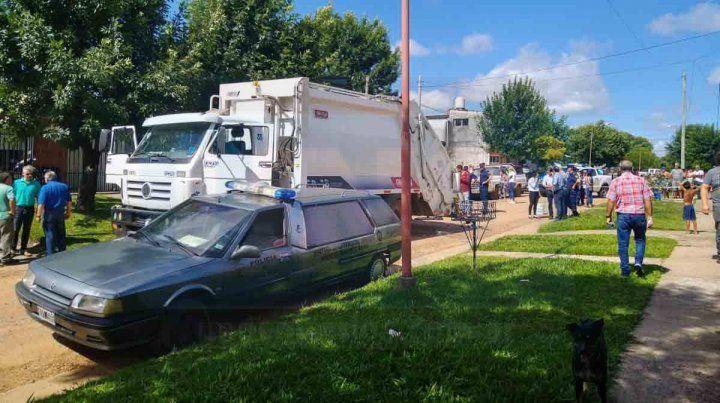 Murió un trabajador municipal aplastado por un compactador de basura
