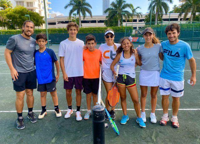 Miami es hoy la casa  para Jordana Luján