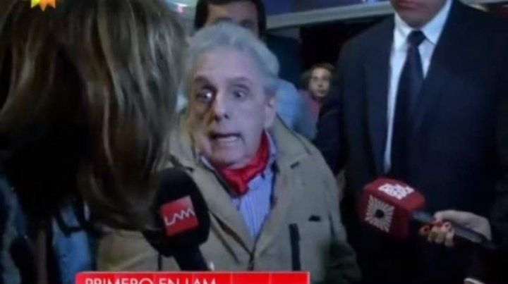 Gasalla insultó a dos noteras en Mar del Plata