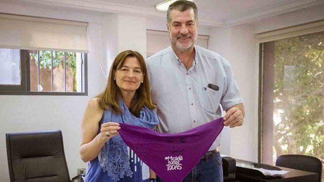 Néstor García, padre de Micaela, se sumó al Gobierno de Kicillof