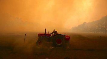 australia: 23 muertos y 6 millones de hectareas quemadas