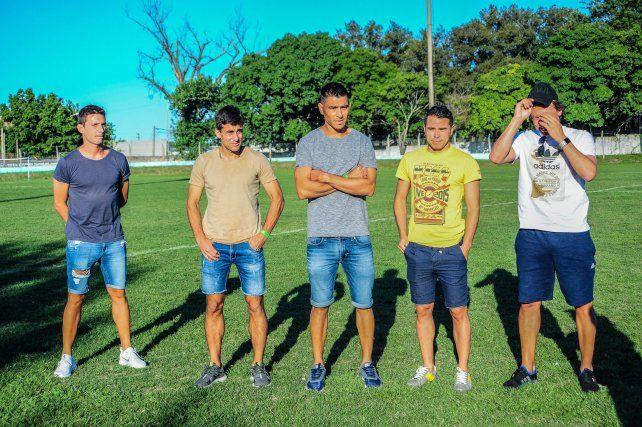 El defensor nacido en Hasenkamp disputó en Paraná un partido solidario a fin de año.