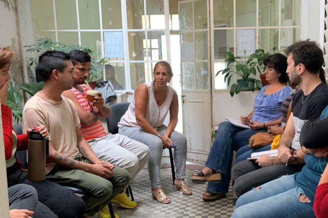 Referentes trans se reunieron con autoridades municipales