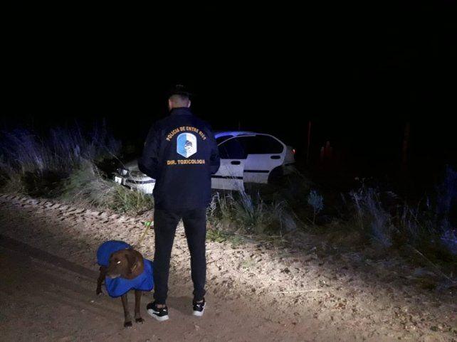 Dos jóvenes detenidos con droga tras un operativo de incógnito