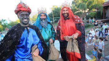 la caravana de los reyes magos, sin gauchos