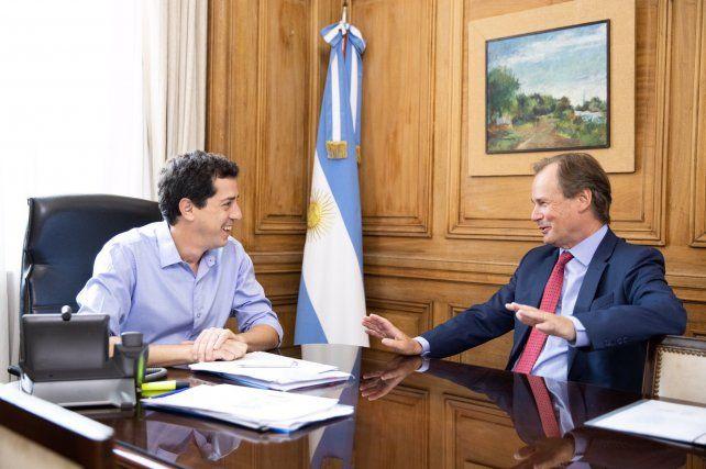 Bordet y De Pedro coinciden en encender la economía entrerriana