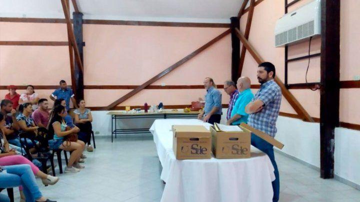 Excampo de Yedro: 20 familias resultaron adjudicatarias de los lotes