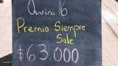 Cuenta regresiva. La agenciera quiere que el ganador se presente y pueda ganar el dinero. Foto: Luis Cachi González.