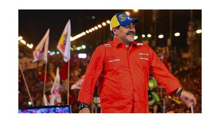 Descartan a Maradona para dirigir la selección de Venezuela