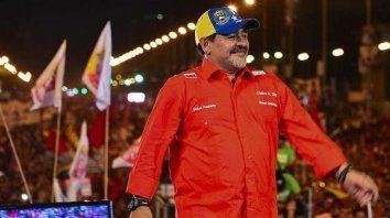 descartan a maradona para dirigir la seleccion de venezuela