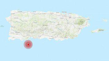 se registra un nuevo terremoto magnitud 6,0 en puerto rico