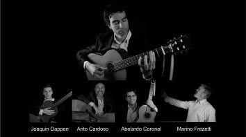 cuatro y pico - cuerdas argentinas participara en el festival de laborde