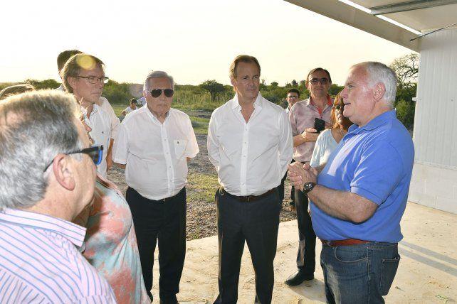 Bordet instó al diálogo y al trabajo conjunto para activar la economía y generar empleo