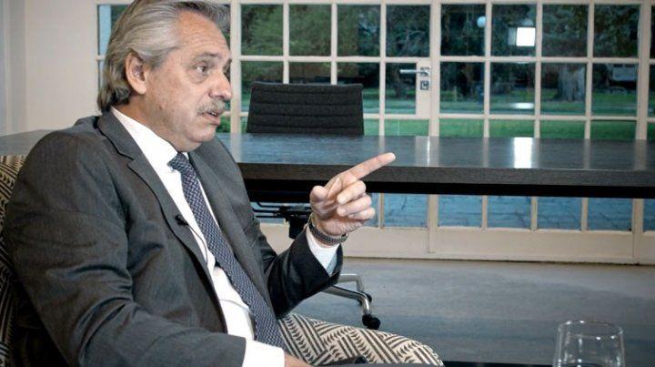 Fernández dijo que para el 31 de marzo quiere tener resuelto cómo queda la deuda externa