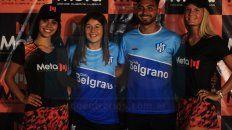 En el encuentro se mostró parte de la indumentaria que utilizará el equipo paranaense.