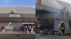 asi eran el exterior e interior de la distribuidora mayorista incendiada