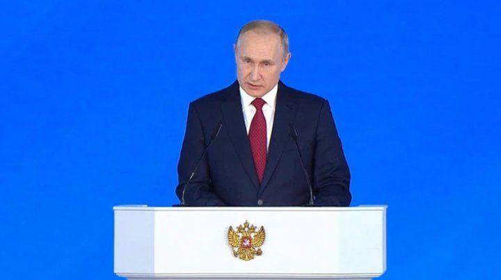 Renunció todo el gobierno ruso luego del discurso de Vladimir Putin ante el parlamento