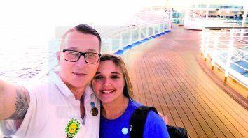 En julio de 2019 Antonella se casó con Aleksandar, un joven serbio que trabaja a bordo del crucero junto con ella.