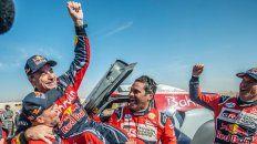 Carlos Sainz, ganador del Rally Dakar 2020