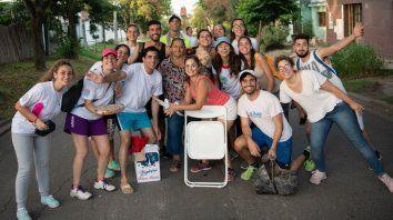 Jóvenes universitarios que bregan por la inclusión en zonas postergadas