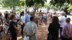 Homenaje en Paraná a cinco años de la muerte de Nisman