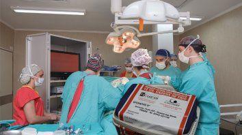 hicieron otra ablacion  de organos en parana