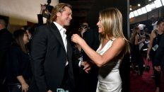 Las fotos del reencuentro de Brad Pitt y Jennifer Aniston