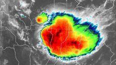 buena parte de la provincia continua en alerta por tormentas