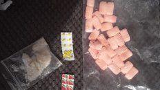 Detenido con varias dosis de Extasis, LSD y Metanfetamina