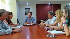 la provincia trabaja con agmer sobre concursos e infraestructura educativa