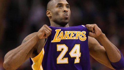 Murió la leyenda de la NBA: Kobe Bryant