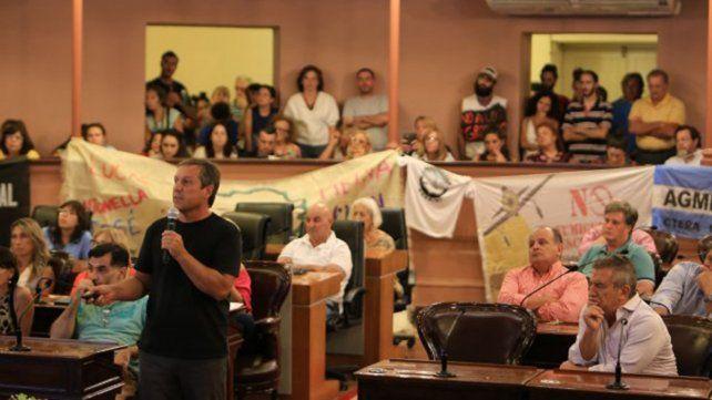Eduardó Cerdá en la Cámara de Diputados de la Provincia de Entre Ríos.