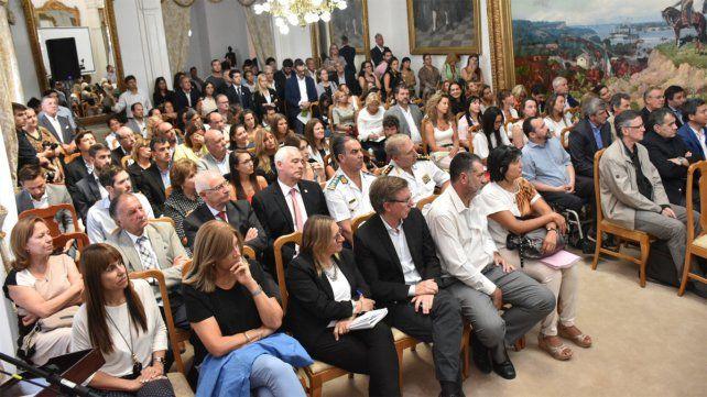 Los padres de Micaela García estuvieron en primera fila. (Foto Prensa Poder Judicial de Entre Ríos)