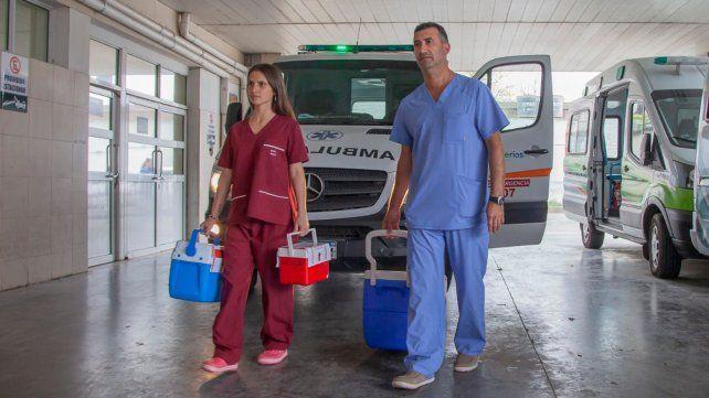 Destacaron la continuidad de los trasplantes de órganos a pesar de la pandemia.