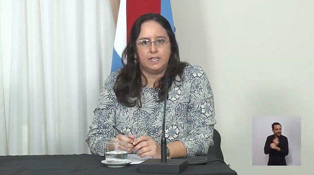 González Wetzel habló de residuos en la conferencia.
