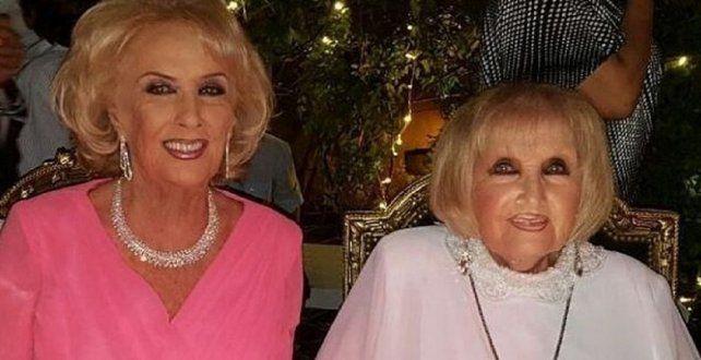 Goldie Legrand solamente dos veces participó de los almuerzos de su hermana.