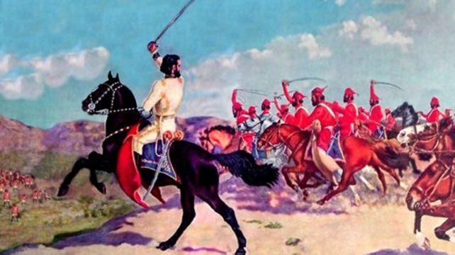 En 1811, le tocará proteger la retirada de Juan Martín de Pueyrredón, luego de la derrota de Huaqui.