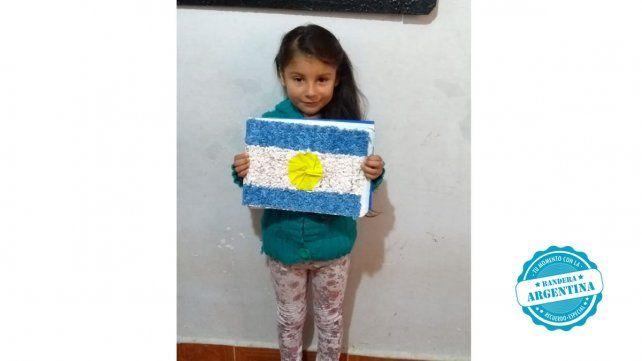 Mia del Jardín de infantes Patito Coletón de la escuela Juan Benjamín Terán