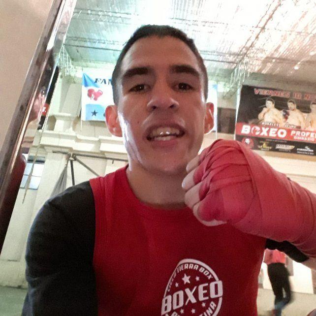 El boxeador Argentino Musculito volvió al gimnasio