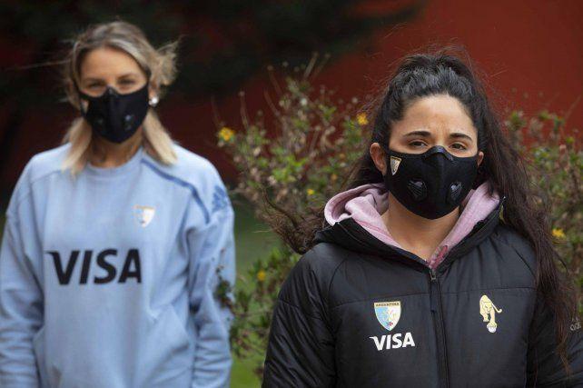 Las chicas habían vuelto a entrenar en el Cenard, pero el cuerpo técnico no quiere exponerlas por los contagios de Covid-19.