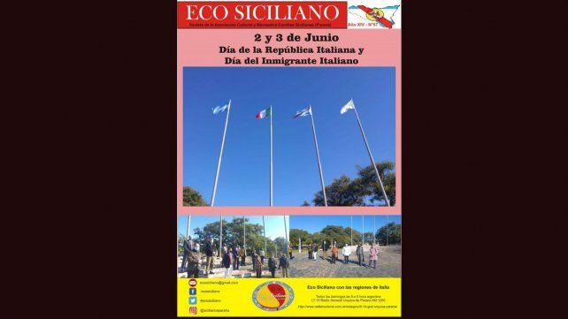 La revista Eco Siciliano, que produce y difunde la Asociación de Familias Sicilianas de Paraná ya circula este mes, en sus distintos formatos.