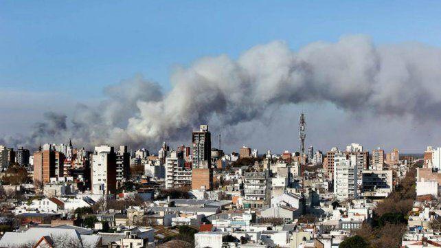 Se conoció ayer una lista de los que serían dueños de los terrenos donde se producen los incendios en las islas frente a Rosario.